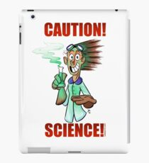 CAUTION! SCIENCE! iPad Case/Skin