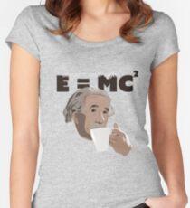 Albert Einstein - Coffee Geek Women's Fitted Scoop T-Shirt