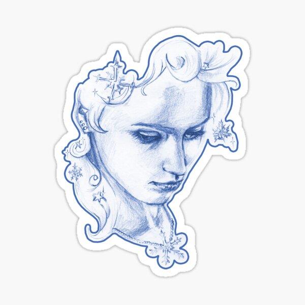 winter queen Sticker