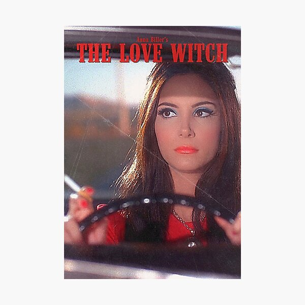 The Love Witch 2016 Vintage  Photographic Print