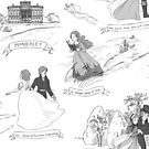 Pride and Prejudice Toile by aimeekitty