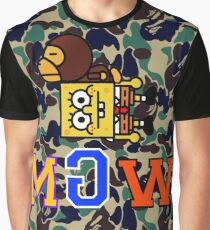 Not/Reverse Bathing Ape MGW Camo Graphic T-Shirt