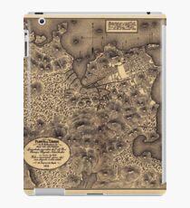 Map of Rio de Janeiro 1812 iPad Case/Skin