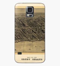 Map of Coney Island 1906 Case/Skin for Samsung Galaxy