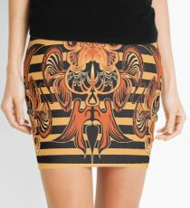 Goldfish & Stripes  Mini Skirt