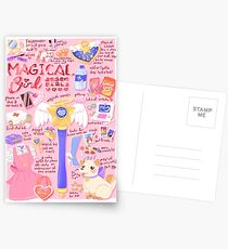 Magische Mädchen-Wesensmerkmale! Postkarten