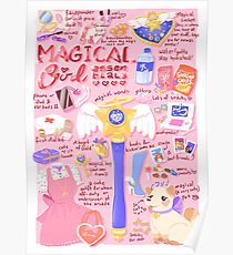 Magical Girl Essentials! Poster