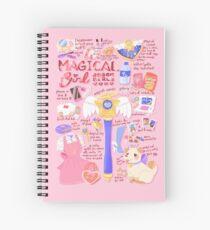 Magical Girl Essentials! Spiral Notebook