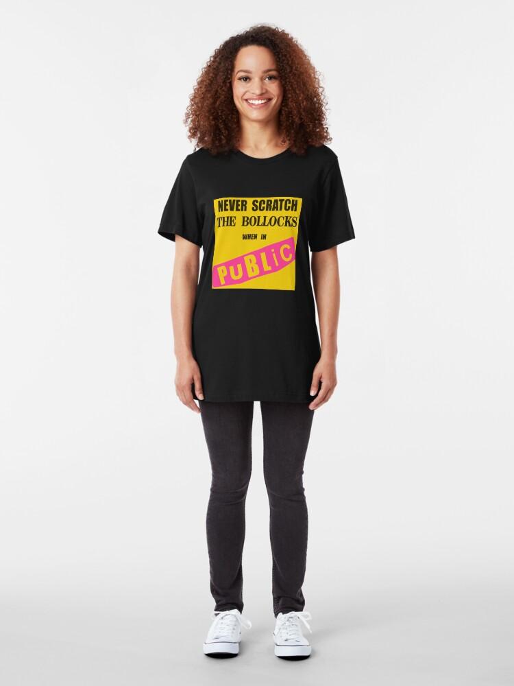 Alternate view of Polite Punk Wear Slim Fit T-Shirt