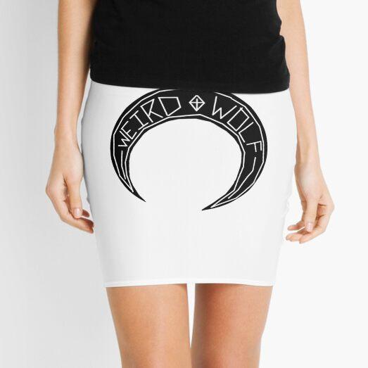 WeirdWolf Crescent Mini Skirt