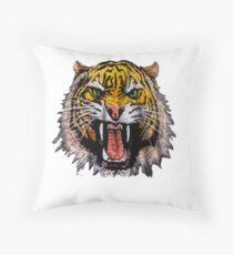 Tekken - Heihachi Tiger Throw Pillow