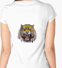 Tekken - Heihachi Tiger Women's Fitted Scoop T-Shirt