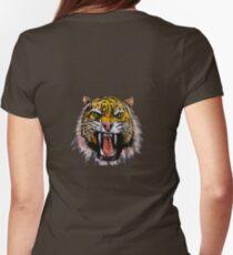 Tekken - Heihachi Tiger Womens Fitted T-Shirt