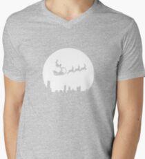 Stunt Santa Mens V-Neck T-Shirt