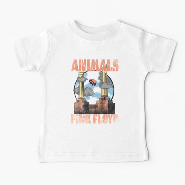 Band Pink Floyd Animals Flying Pig Baby T-Shirt