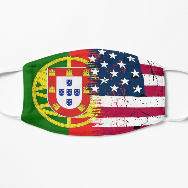 Portuguese American Flat Mask