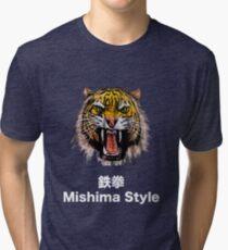 Tekken - Heihachi Mishima Style Tiger Tri-blend T-Shirt