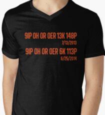 Freak No Hitter 2: The Freak-quel (Orange) Men's V-Neck T-Shirt