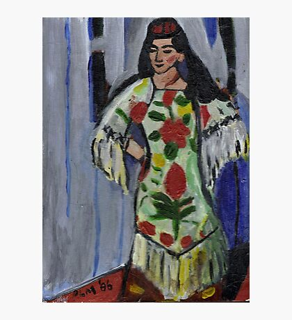 Gypsy Dancer(After Matisse) Photographic Print