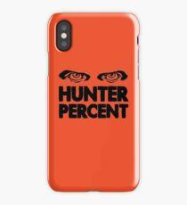 Hunter Percent (Light Version) iPhone Case