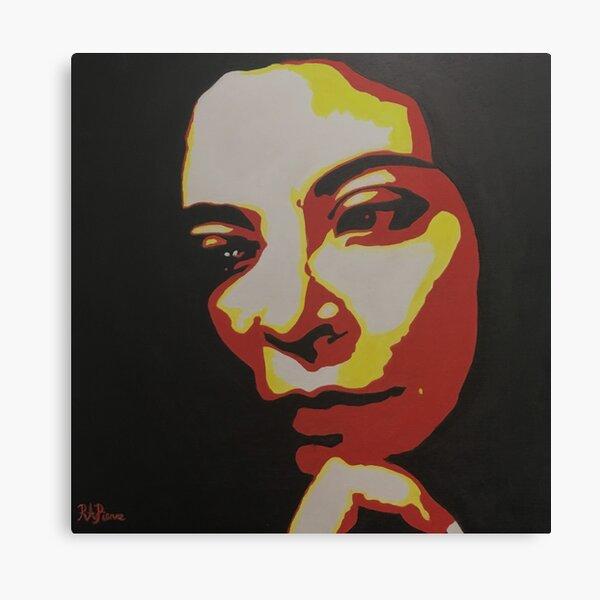Ponder - Self Portait Canvas Print