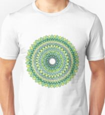 Green Mandala Unisex T-Shirt