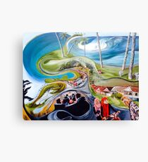 The road to honey smacks Canvas Print