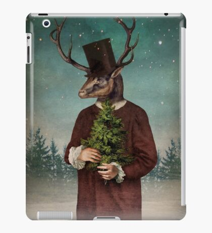 Mr Reindeer iPad Case/Skin