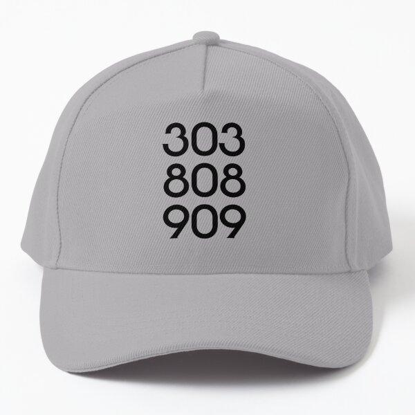 808 303 909 acid house Baseball Cap