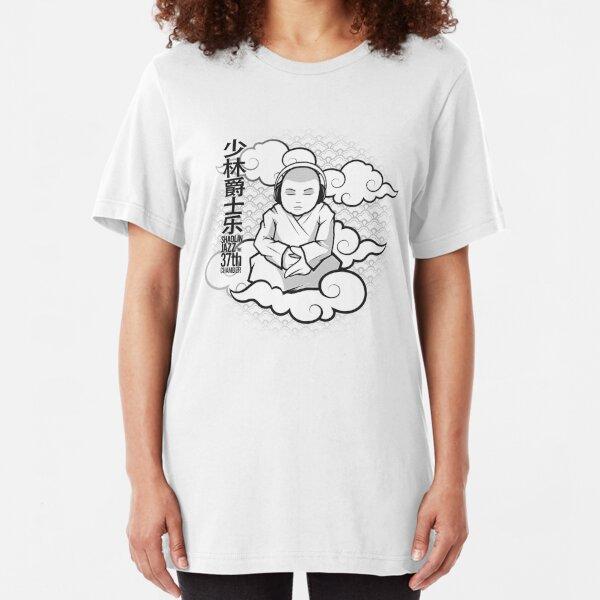 SHAOLIN JAZZ - Meditation Slim Fit T-Shirt