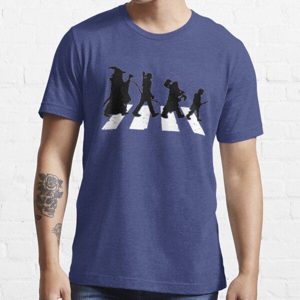 Fellowship of the Ring Abbey Road Essential T-Shirt