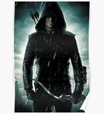 Stephen Amell Arrow 01 Poster
