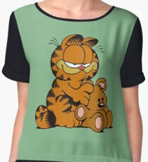 Garfield Women's Chiffon Top