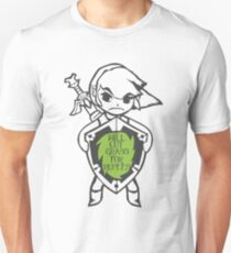 Link 'Will cut grass for rupees' T-Shirt