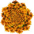 Autumn Leaves Pattern by 2HivelysArt