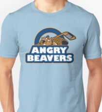 Angry Beaver Hockey T-Shirt