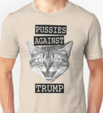 Pussies against Trump Unisex T-Shirt
