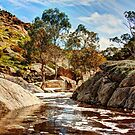 Mannum Falls, The Murraylands by Mark Richards