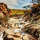 Mannum Falls, The Murraylands II by Mark Richards