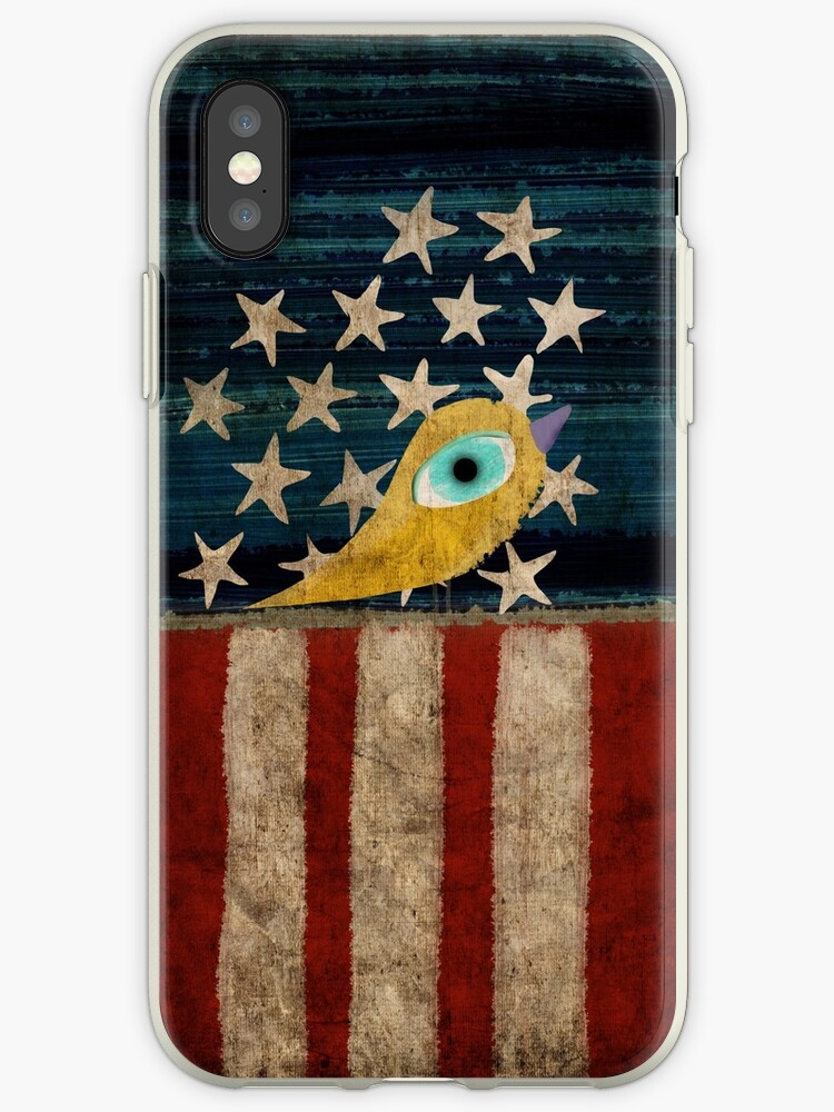 Stars and Stripes iphone case by rupydetequila