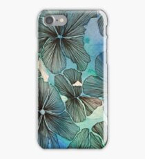 Waterlillies v2 iPhone Case/Skin