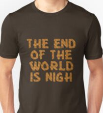 The End of the World is Nigh (Tiger) T-Shirt