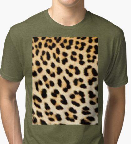 Lodge décor - Cheetah print Tri-blend T-Shirt