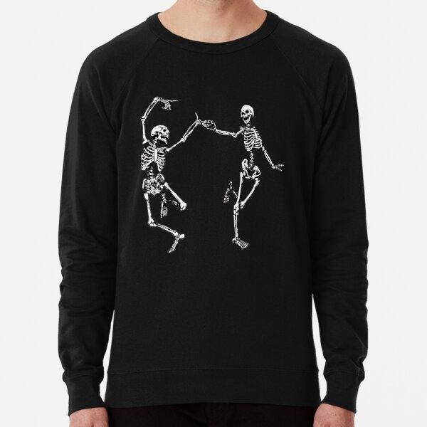 Tanzende Skelette Vintage Tag der Toten Halloween 2021 Leichter Pullover