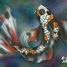 Rainbow Butterfly Koi by Red-wolf-Ink
