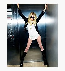 Taylor Michel Momsen-the pretty reckless Photographic Print