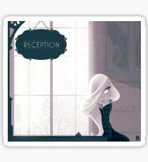 Reception Sticker