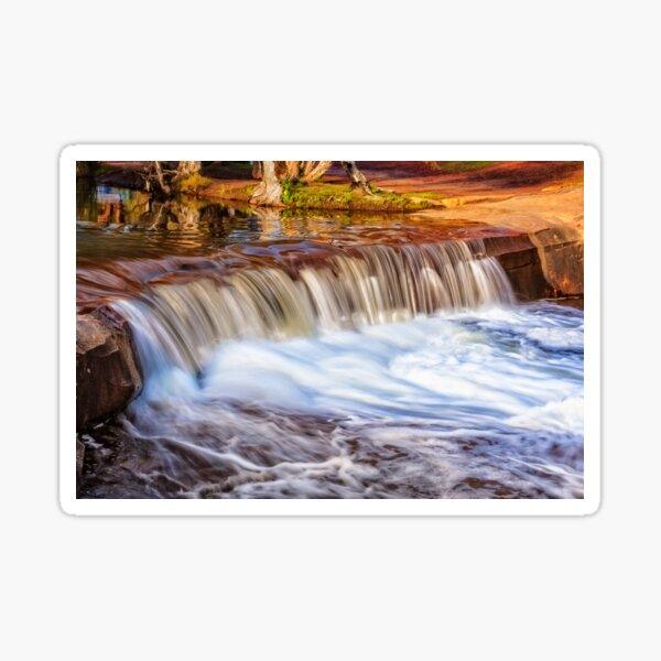 Full Flow, Noble Falls, Perth Sticker