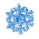Snowflake vector - Gardener's dream white version by Alexey Kljatov