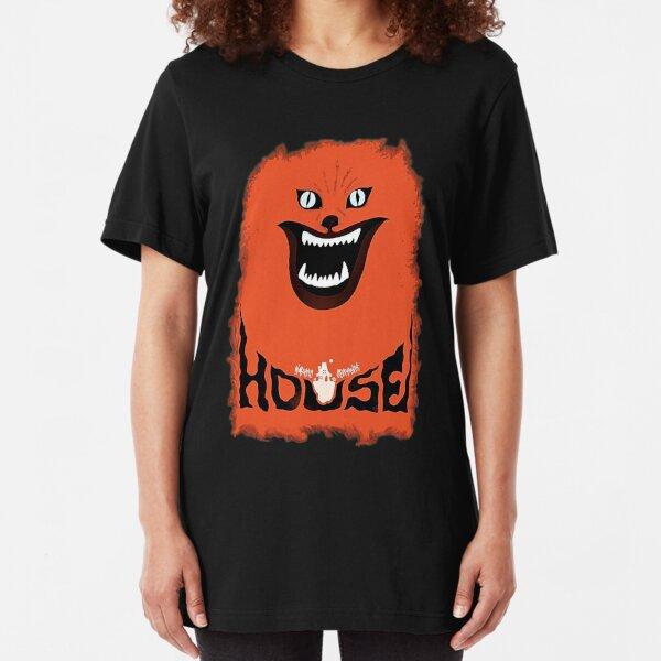 House (hausu) - Logotipo Camiseta ajustada